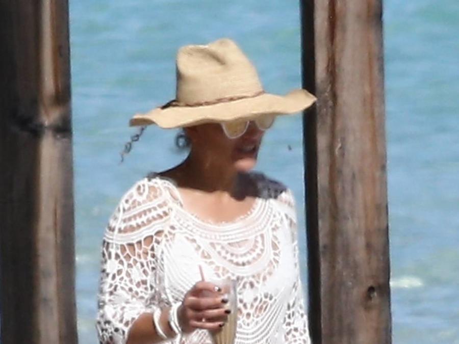 Jennifer Lopez Islas Turcas y Caicos