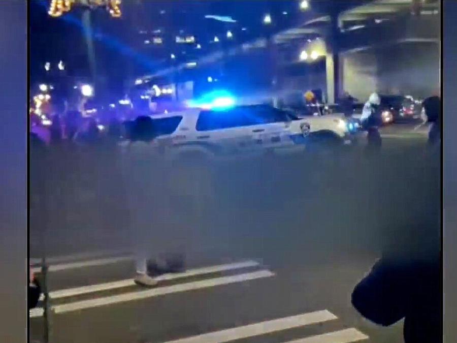 Patrulla atropella personas en Tacoma