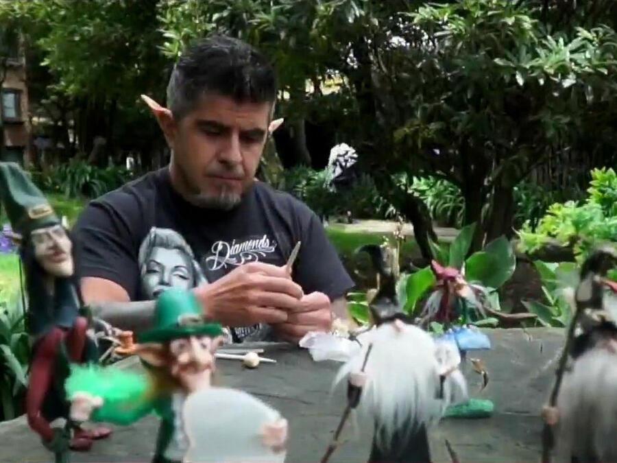 Eddye Arias y duendes