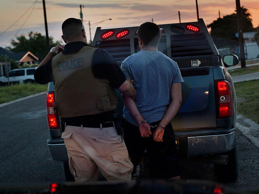 Arresto en Texas