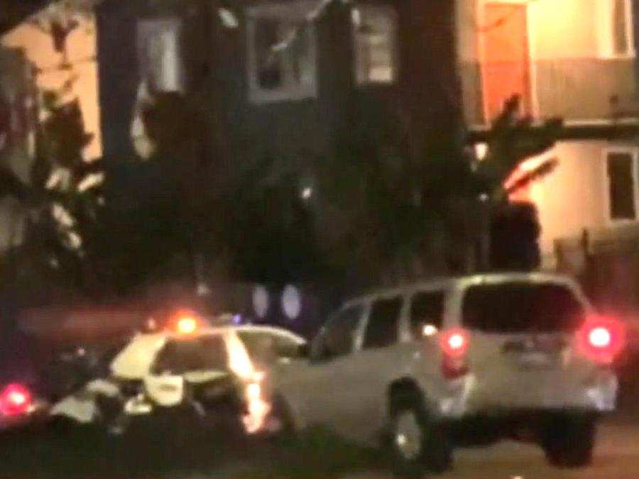 Conductor arrolla a un policía en Los Ángeles