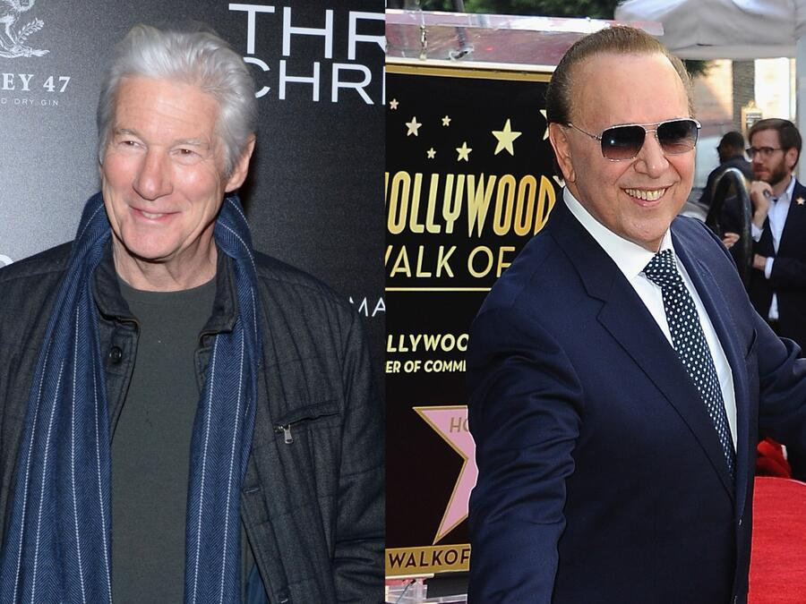 Richard Gere y Tommy Mottola