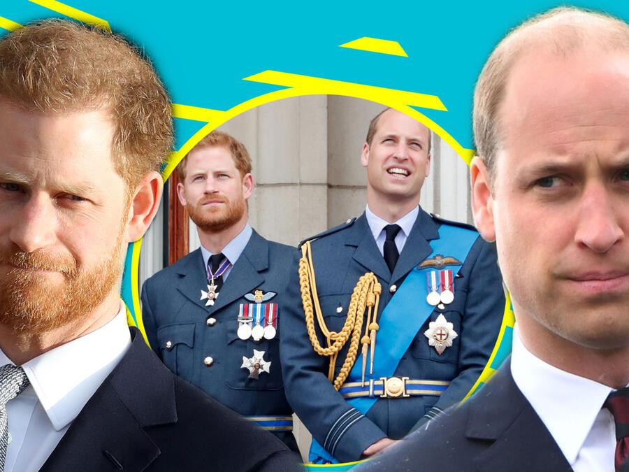 William y Harry: su pleito no cedería ni por el príncipe Felipe