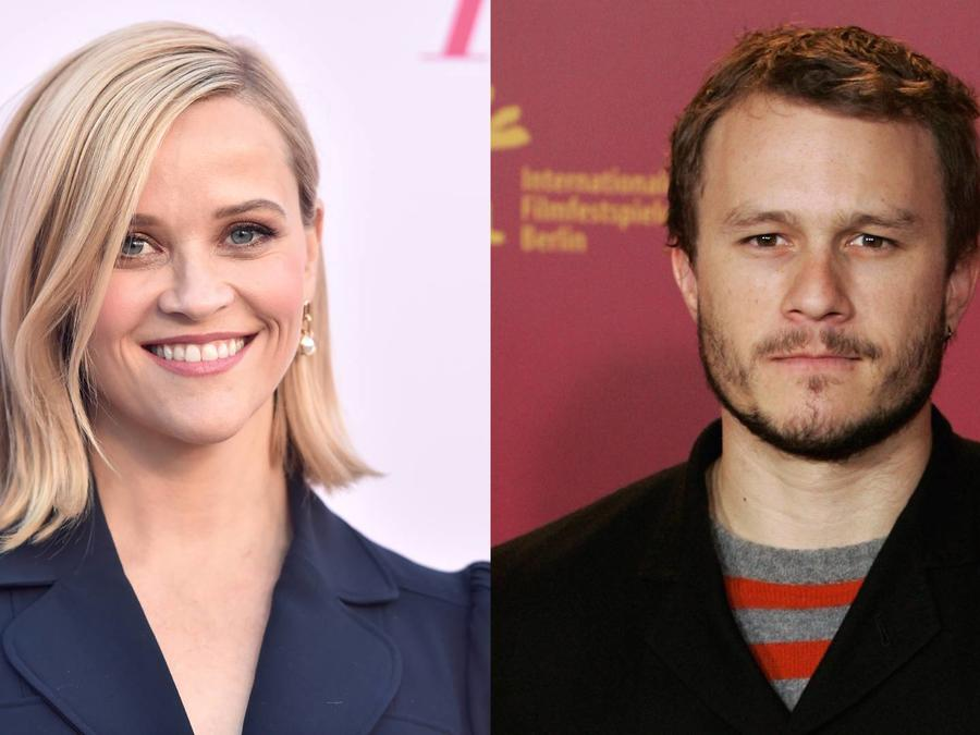 Heath Ledger y Reese Witherspoon