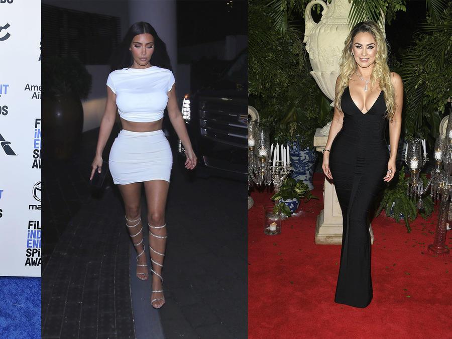 Jennifer Lopez, Kim Kardashian y Aracely Arámbula