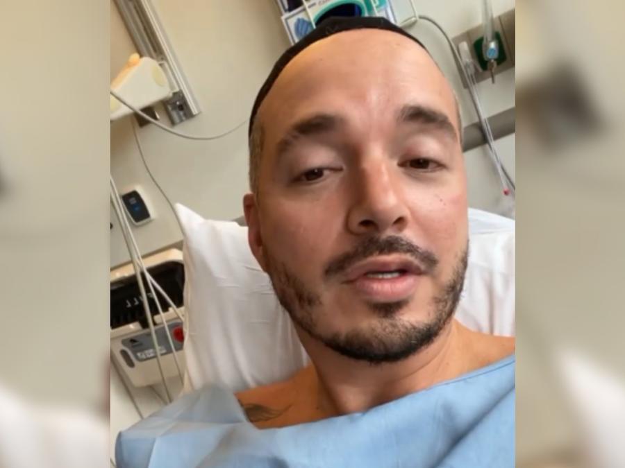 J Balvin en el hospital