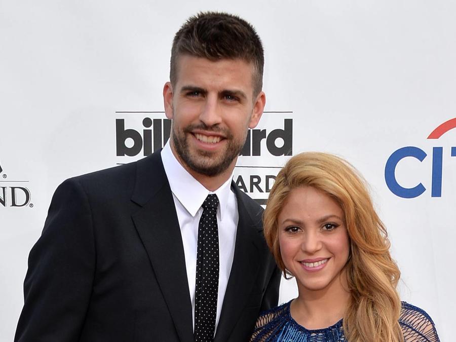 Shakira y Gerard Piqué las Vegas 2014