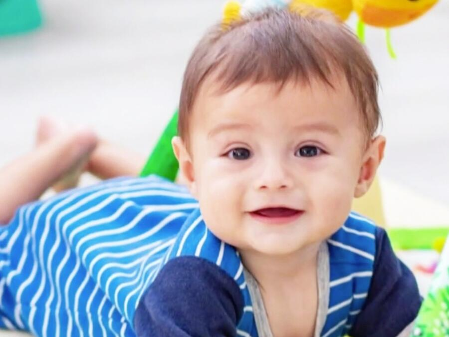 Matías, hijo de Jessica Carrillo, festeja su primer año