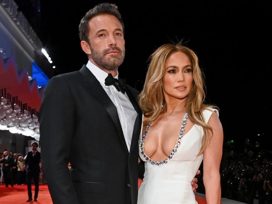 Jennifer Lopez y Ben Affleck en el Festival de Cine de Venecia