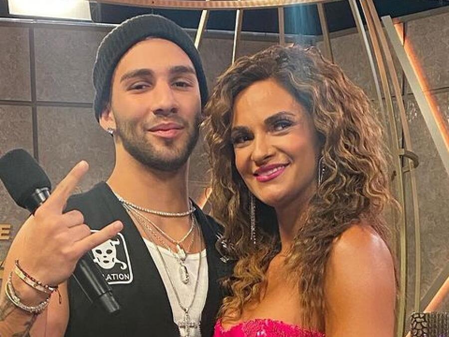 Manuel Turizo y Mariana Seoane en 'Así Se Baila'