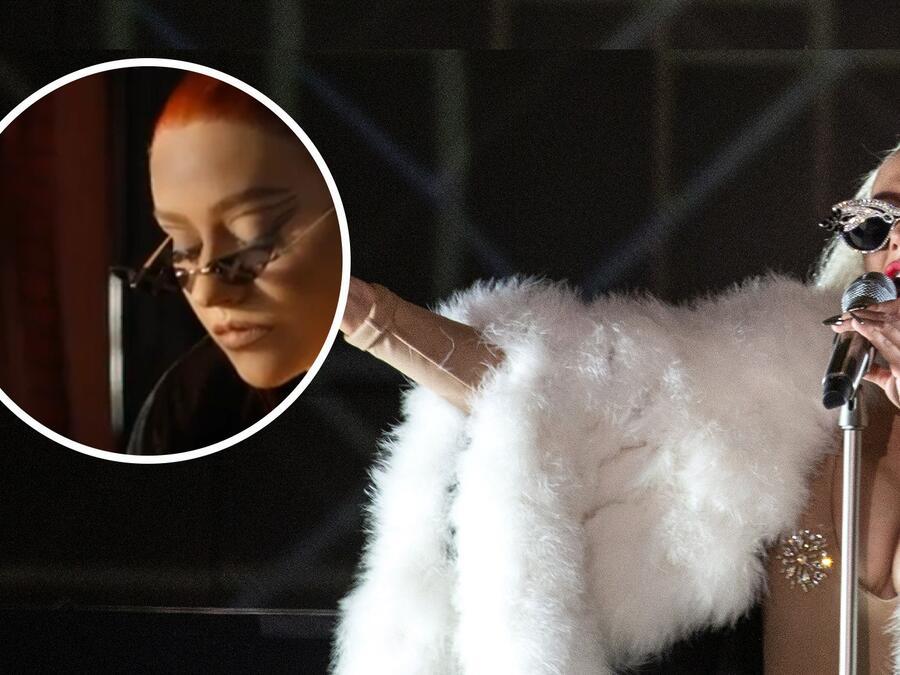 Christina Aguilera cambió de look, mira su cabello rojo.