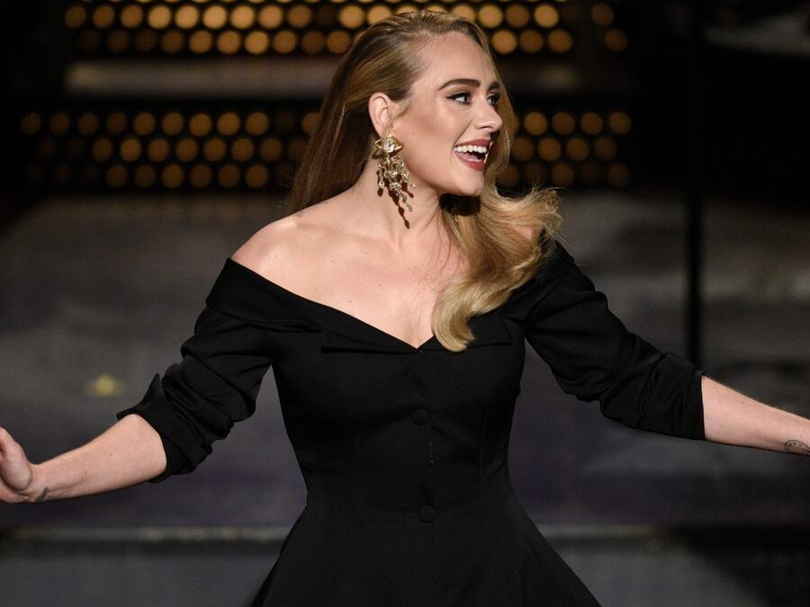 Adele en 'Saturday Night Live'