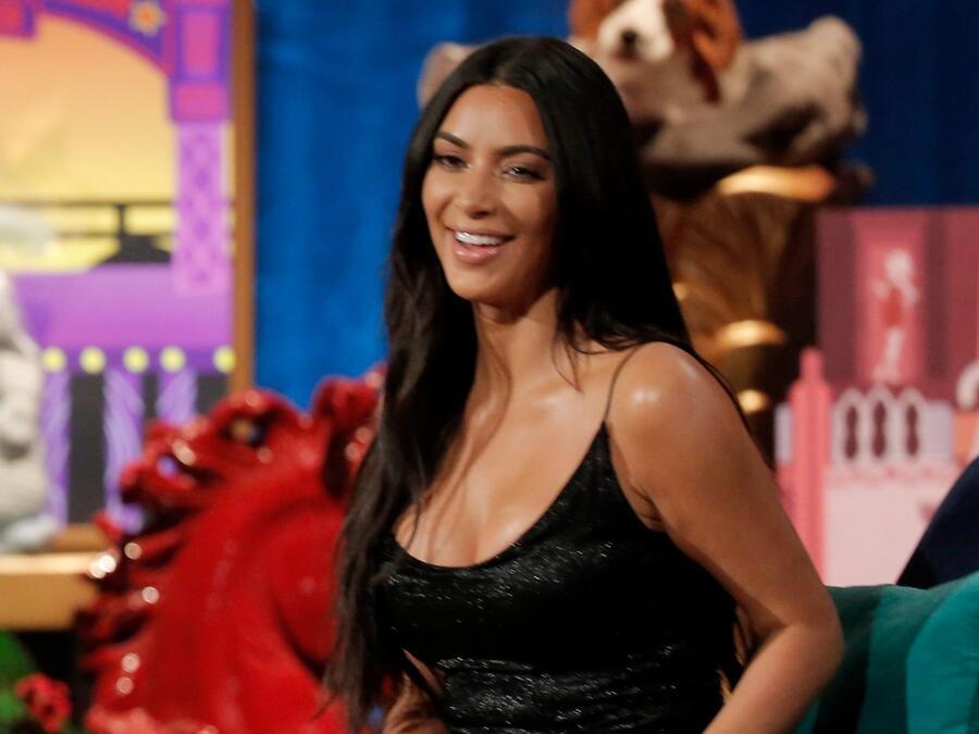 Kim Kardashian en el show de Andy Cohen