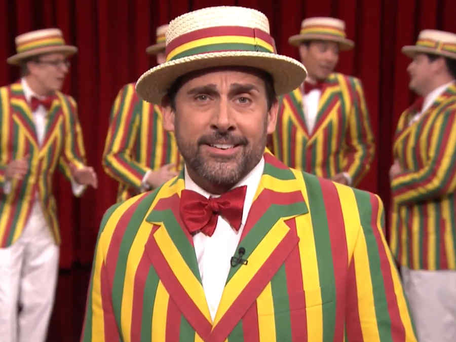 """Steve Carell canta junto a """"The Ragtime Gals"""","""