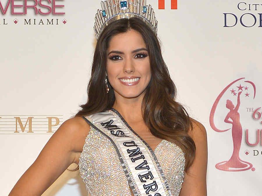 Colombiana Paulina Vega, coronada miss universo