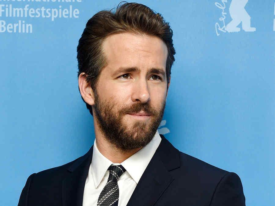 """Ryan Reynolds en la premiere de """"Woman in Gold""""."""