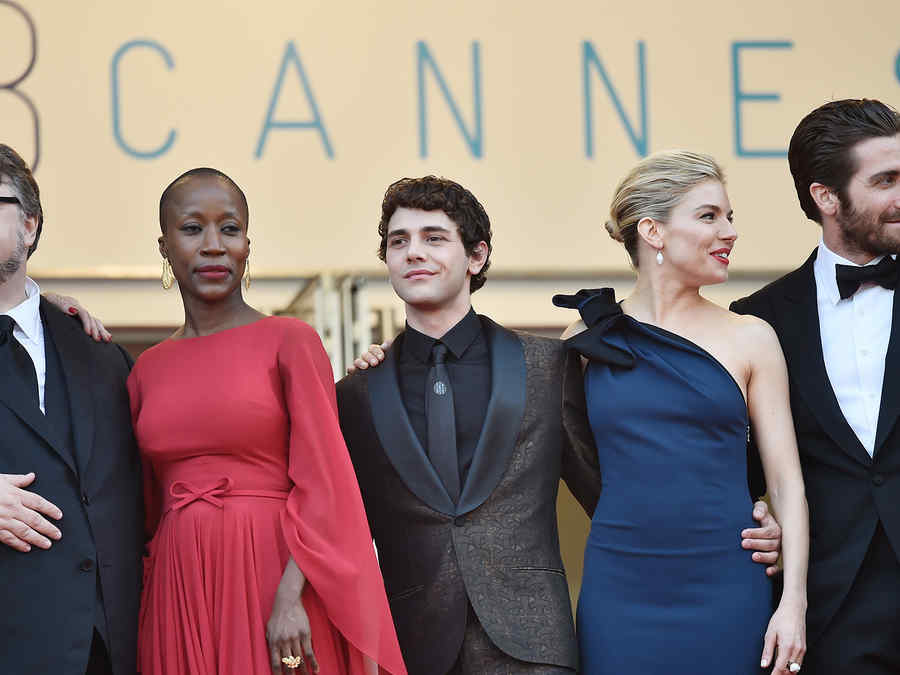 Guillermo Del Toro, Rokia Traore, Xavier Dolan, Sienna Miller y Jake Gyllenhaal en Cannes.