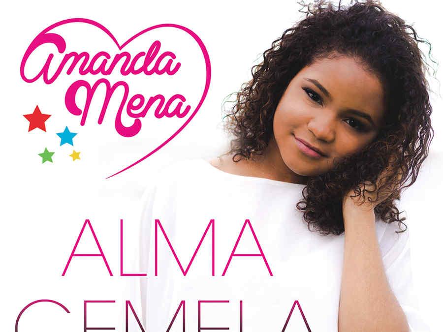 Amanda Mena, Alma Gemela, portada del sencillo
