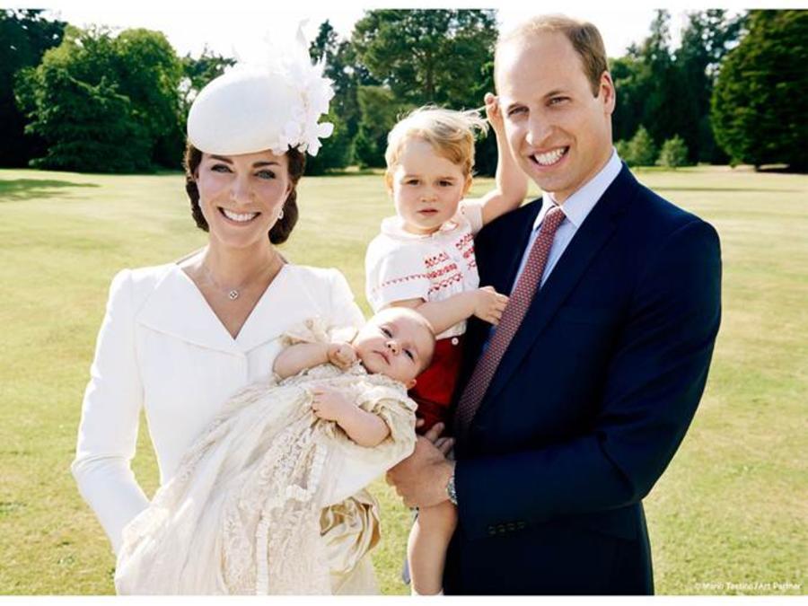 Príncipe William, Kate Middleton, Príncipe George, Princesa Charlotte