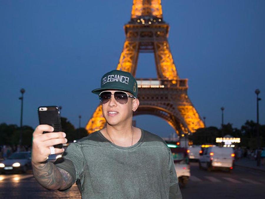 Daddy Yankee, Torre Eiffel, Paris, King Daddy Tour