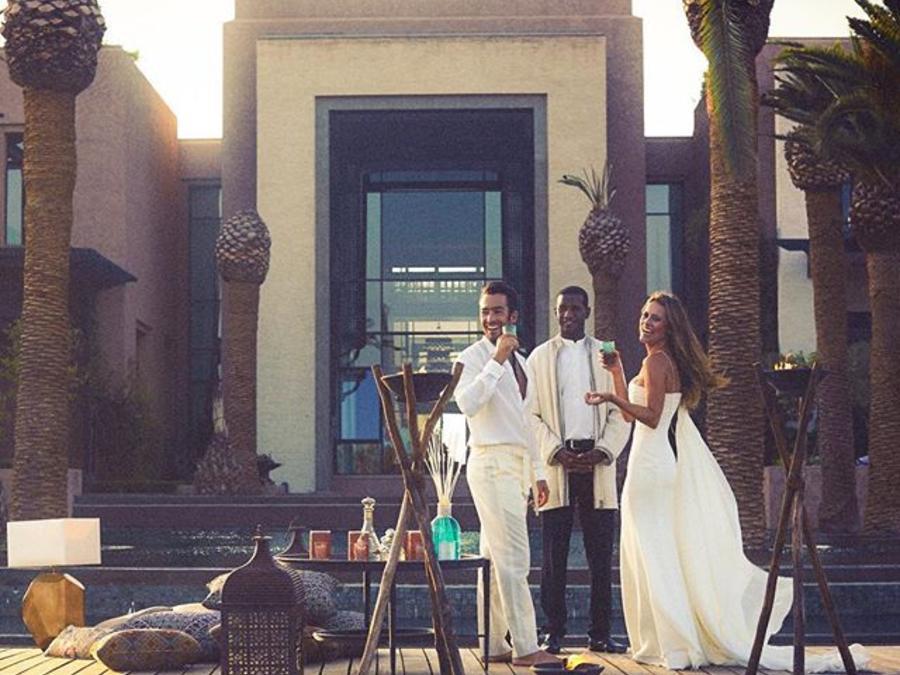 Lola Ponce y Aarón Díaz en Marruecos
