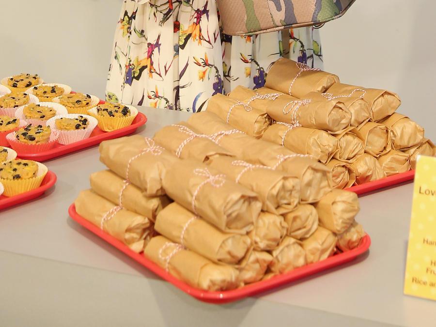 Wrap de jamón y queso de Camila Alves