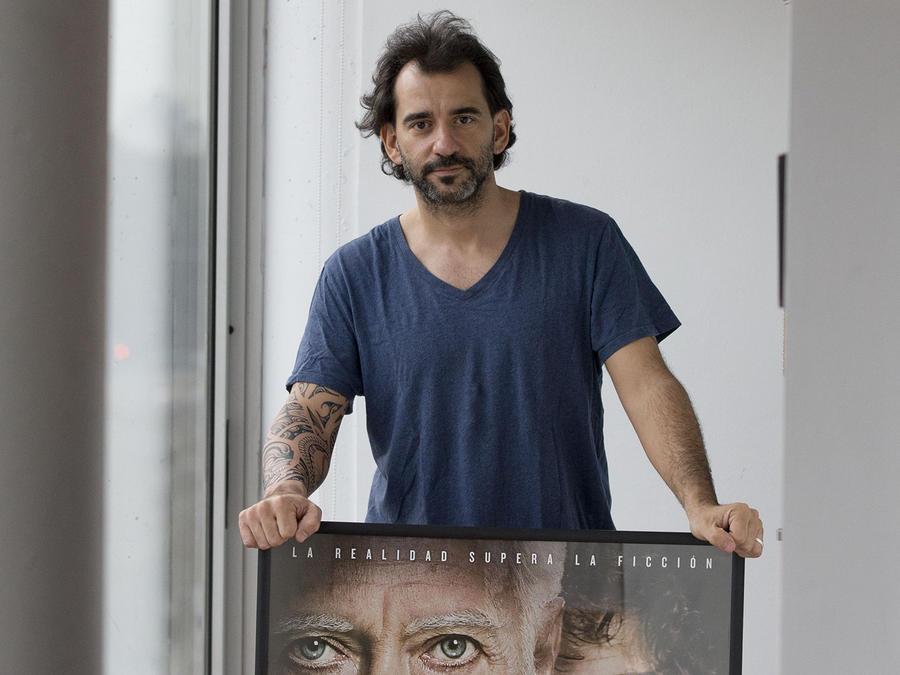 Pablo Trapero posa para una foto en Buenos Aires, Argentina