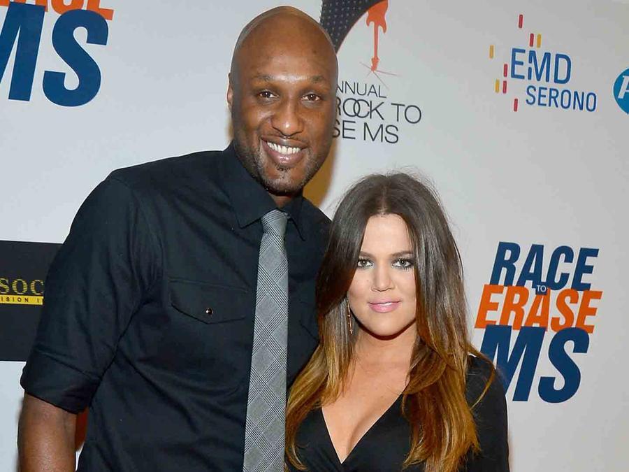 Khloé Kardashian y Lamar Odom en Race to Erase Ms 2012