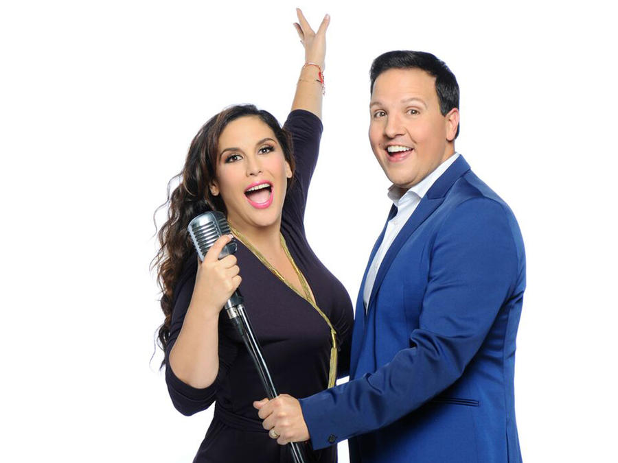 Angelica Vale y Raul Gonzalez gritan de alegria para Que Noche