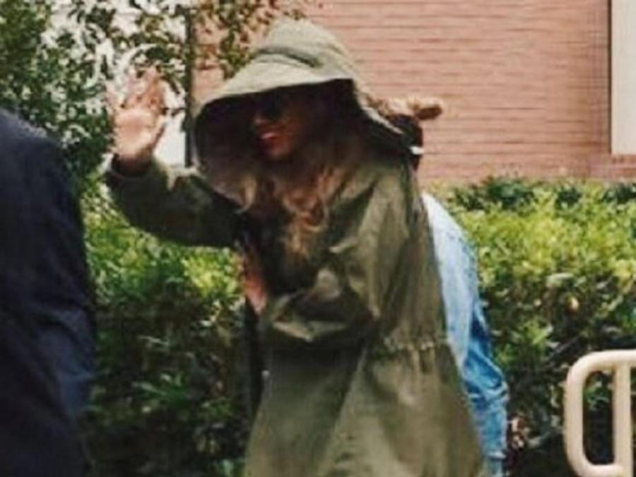 Beyonce ensaya en la universidad