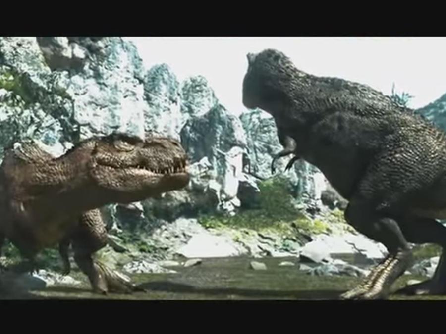 Dinosaurios teniendo sexo en comercial japonés