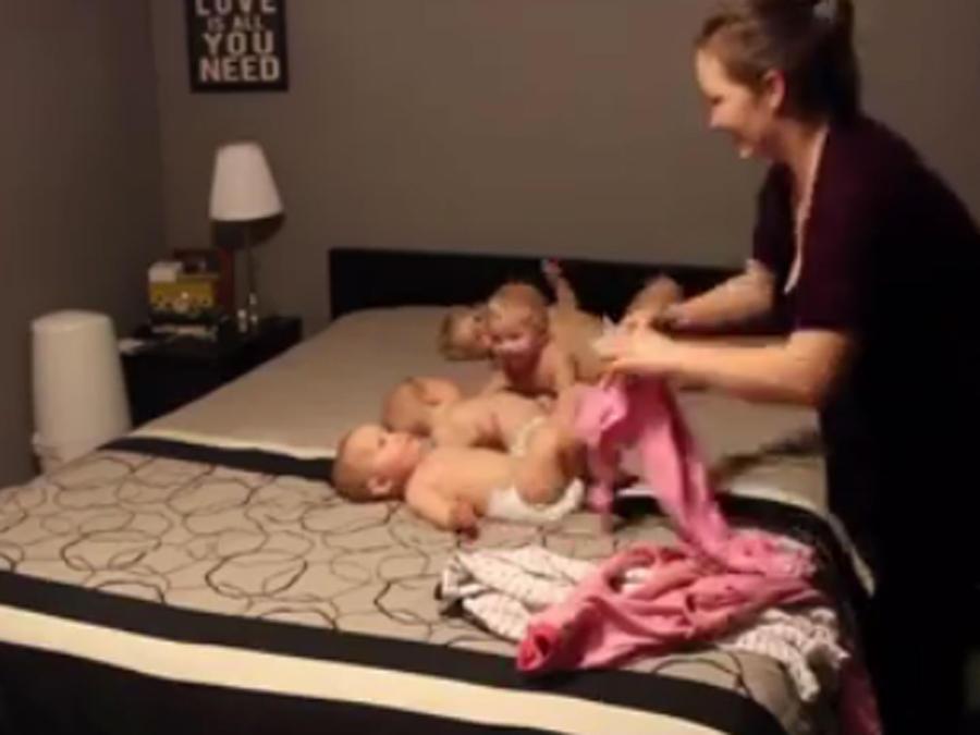 Video de madre que alista a sus ciuatro años se hace viral