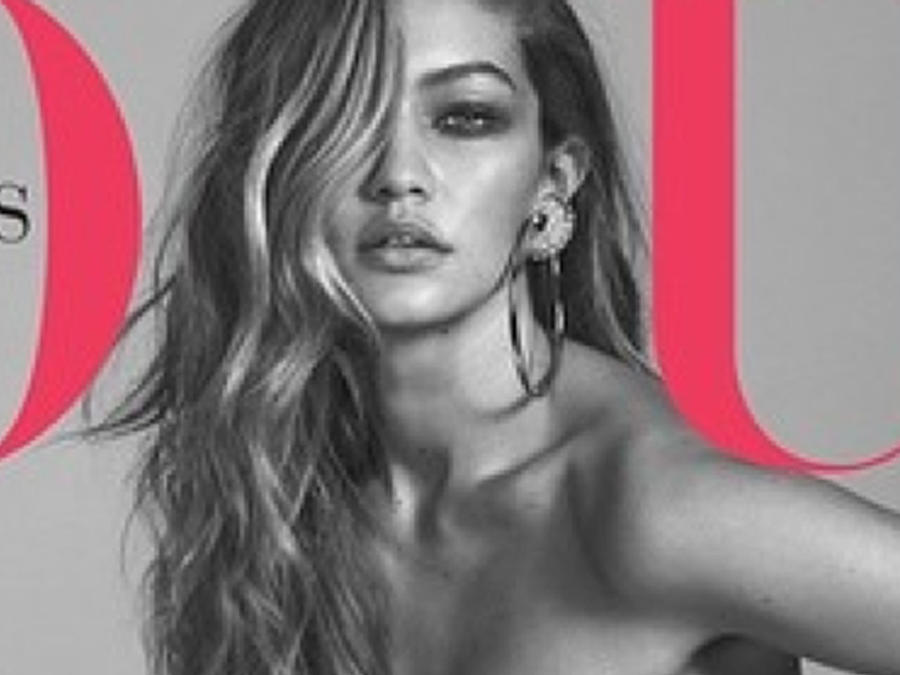 Gigi Hadid en la portada de Vogue