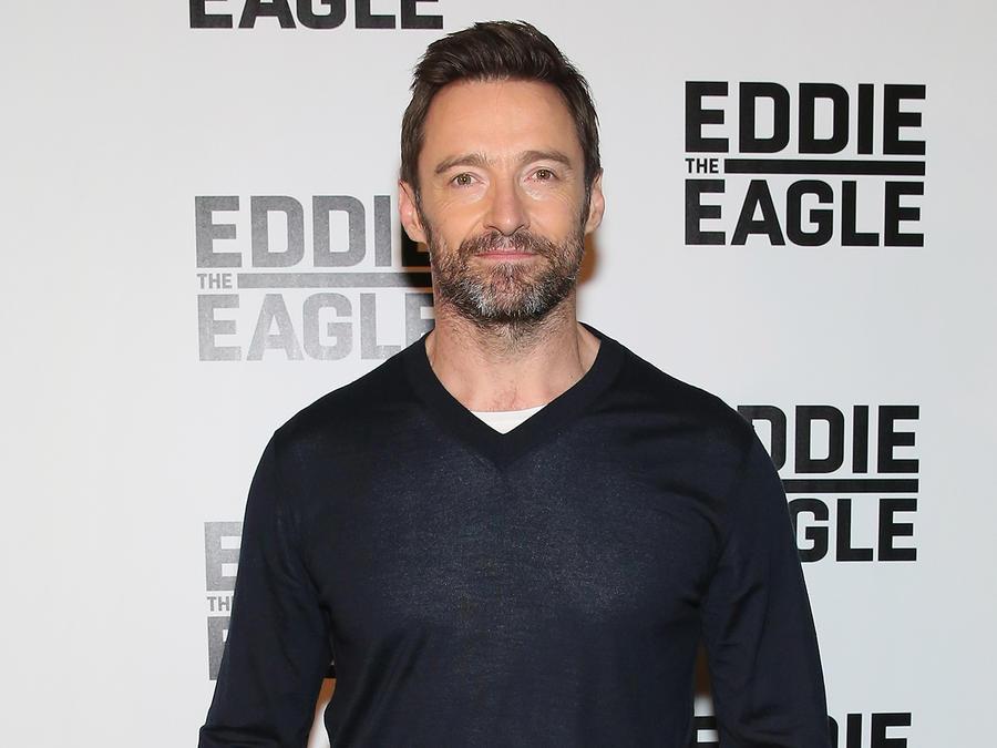 """Hugh Jackman en el screening de """"Eddie The Eagle""""."""