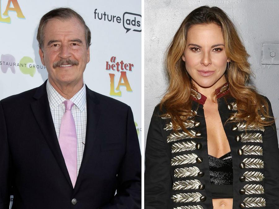 Vicente Fox y Kate del Castillo