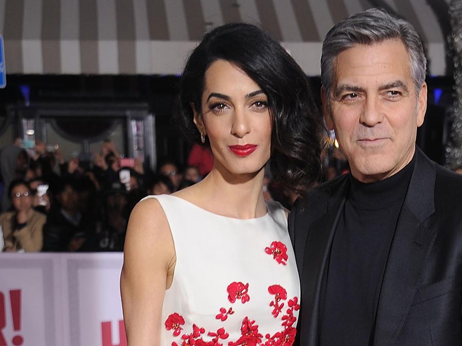Amal Clooney y George Clooney