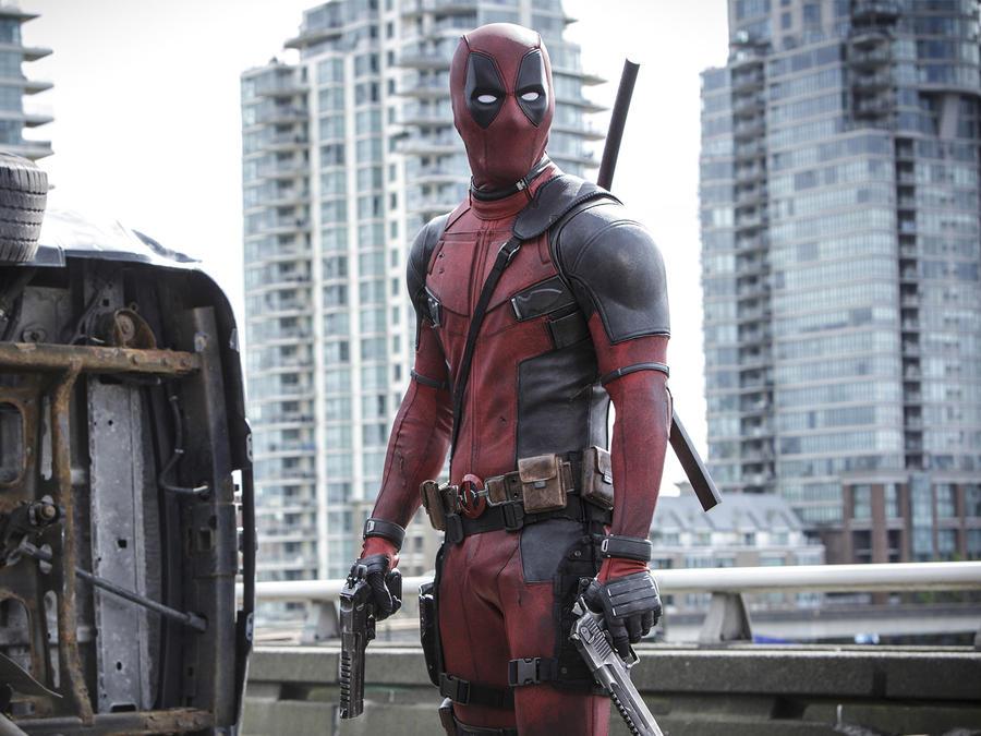 """Ryan Reynolds en """"Deadpool"""""""
