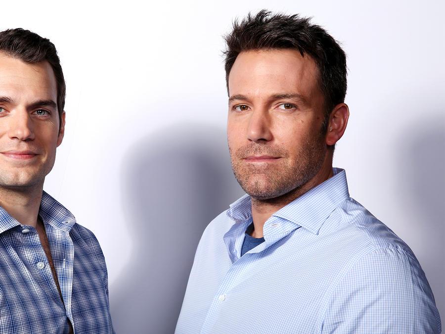 Henry Cavill y Ben Affleck