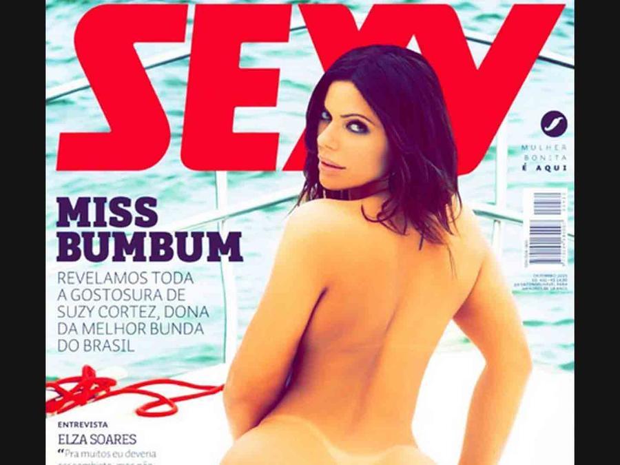 """Suzy Cortez, desnuda en la revista """"Sexy"""""""