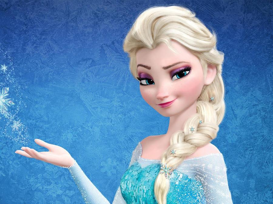 "Elsa de ""Frozen"""