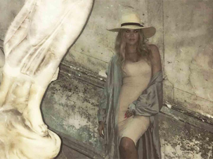 Khloé Kardashian en La Habana, Cuba