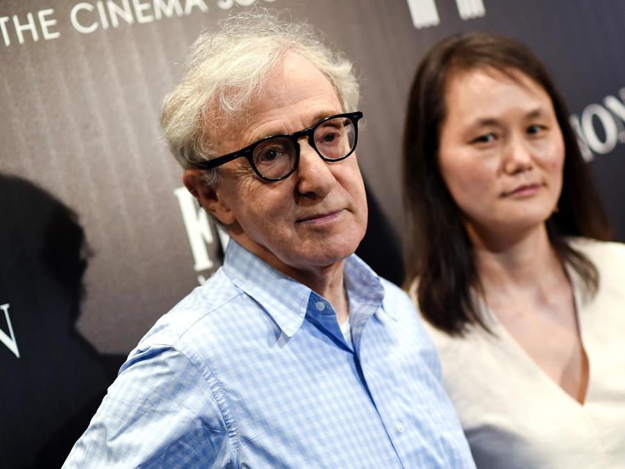 Woody Allen y su esposa, Soon-Yi Previn