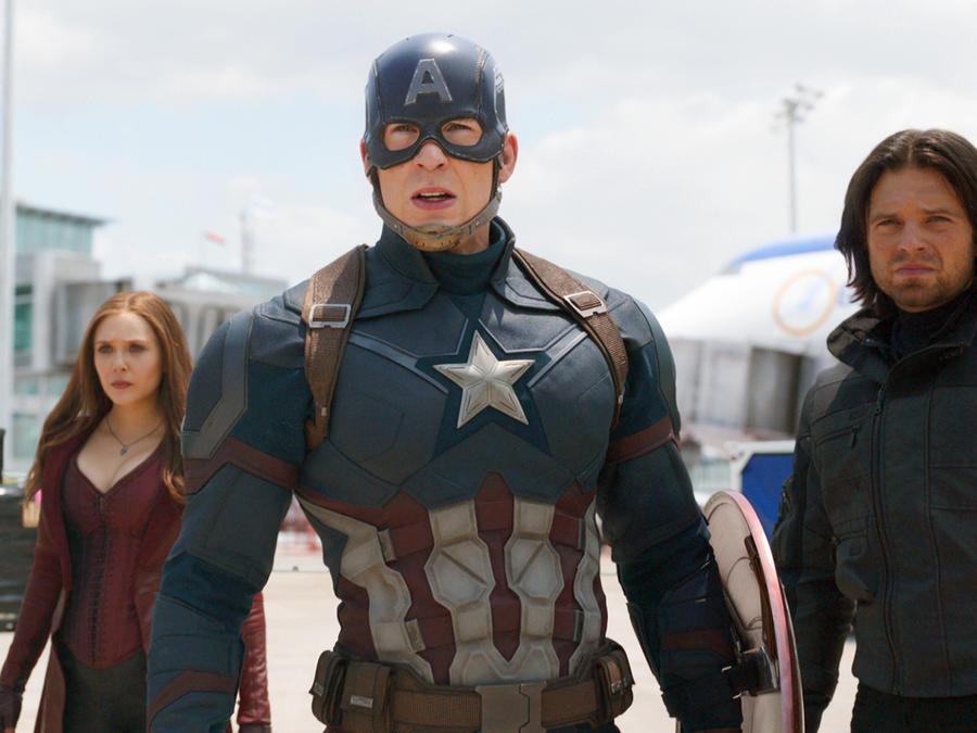 """""""Captain America: Civil War"""", el quinto debut más taquillero"""