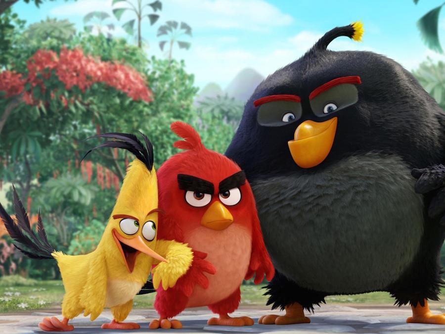 """Los """"Angry Birds"""" despliegan sus alas y saltan del videojuego al cine"""
