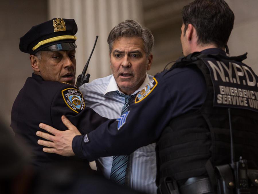 "George Clooney en ""Money Monster"""