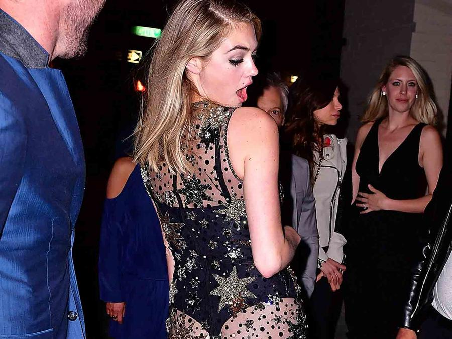 Kate Upton y Justin Verlander en The Blond, Nueva York