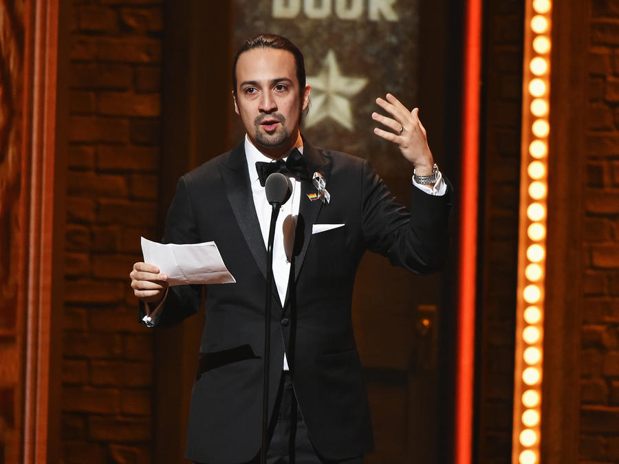 Lin-Manuel Miranda 2016 Tony Awards - Show
