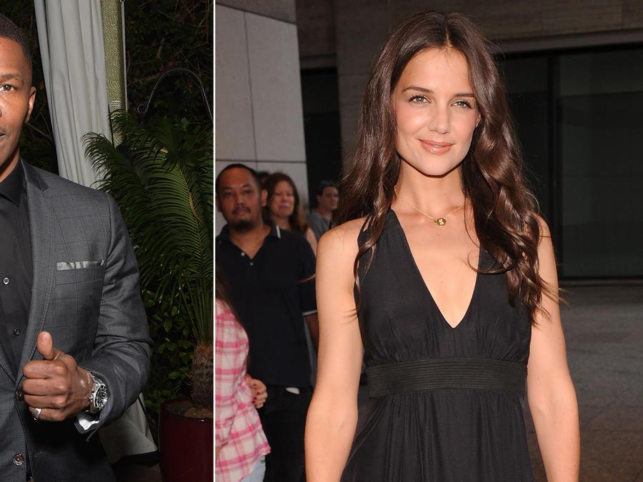 Confirmado: Katie Holmes y Jamie Foxx son pareja
