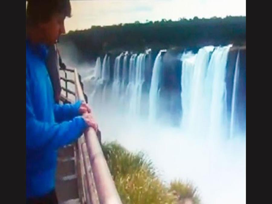 Joven se suicida saltando en las cataratas de Iguazu