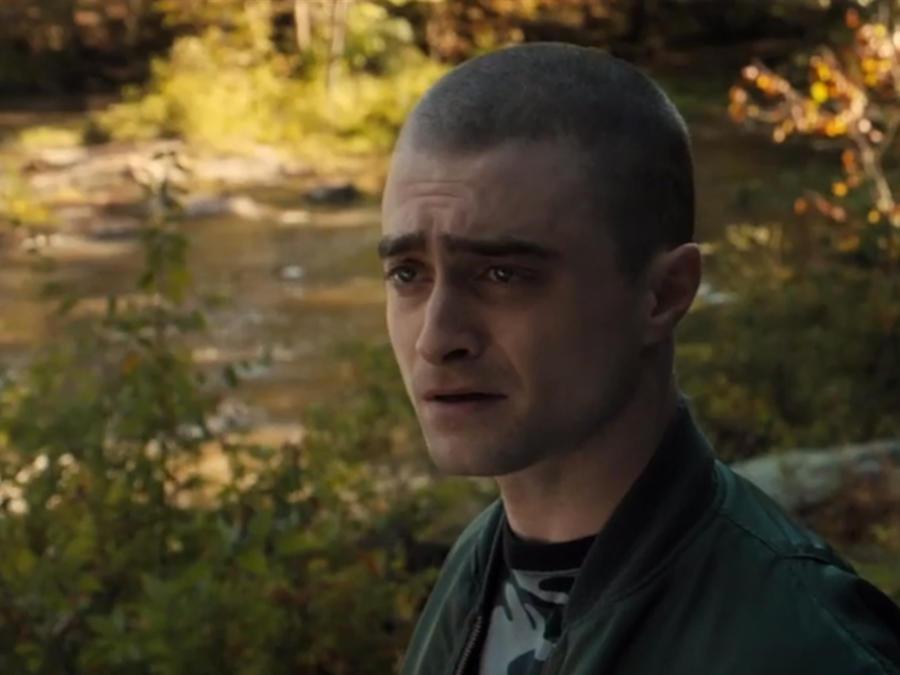 """Daniel Radcliffe en """"Imperium""""."""